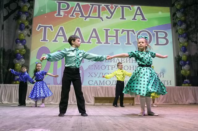Вверх по радуге бегом: маленькие артисты выходят на сцену