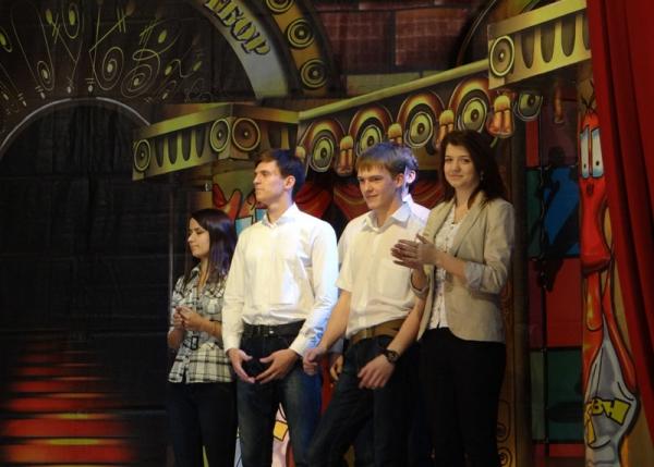 Стартовали полуфинальные игры КВН НГПУ «Неестественный отбор»