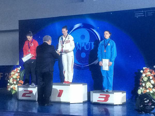 Студентка ФТП НГПУ - победитель Чемпионата Европы по ушу таолу