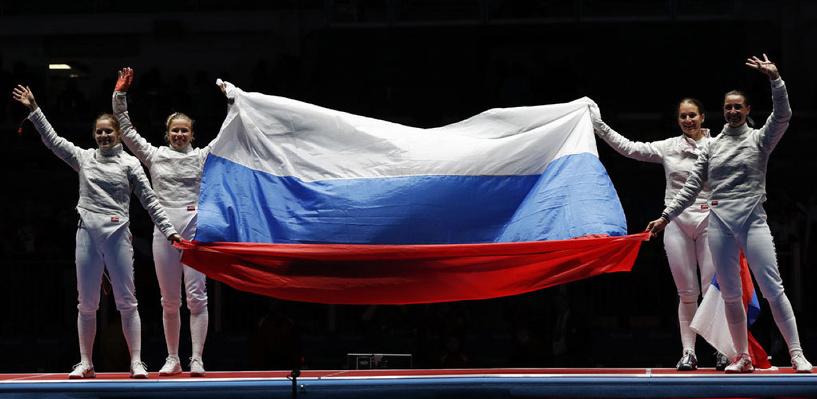 Российская сборная поднялась на шестое место в общем зачете Олимпиады