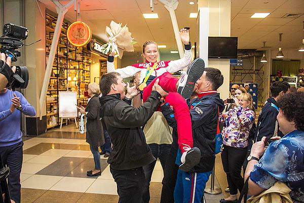 Олимпийцы возвращаются в родной Новосибирск
