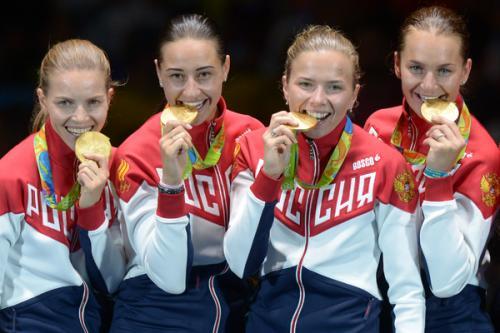 6-е золото. Российские саблистки стали олимпийскими чемпионками в Рио