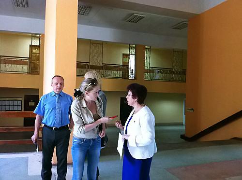 Ирина Мануйлова посетила курсы повышения квалификации для педагогов по подготовке учеников к сдаче ЕГЭ.