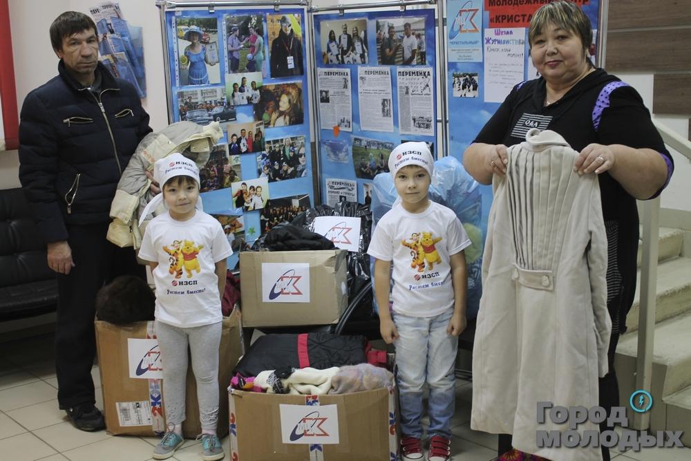В Новосибирске «взвесили» благотворительную акцию в килограммах