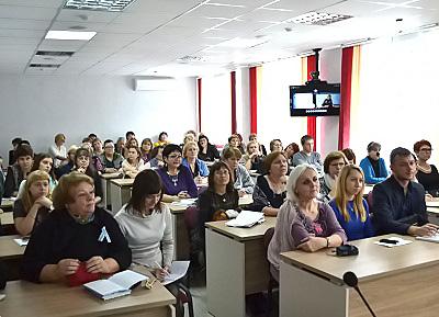 8-9 ноября на площадке Новосибирского государственного педагогического университета прошла V научная школа «Инклюзивное образование как системная инновация».