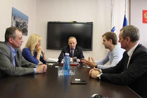 НГПУ посетил вице-президент Российского студенческого спортивного союза