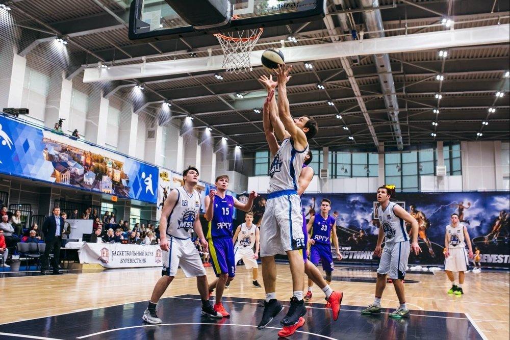 В студенческой баскетбольной Лиге Белова известны 15 участников 1/8 финала