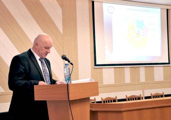 Ученый совет подвел итоги научной работы НГПУ в 2012 году