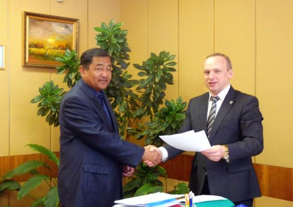 НГПУ развивает сотрудничество с одним из крупнейших вузов Монголии