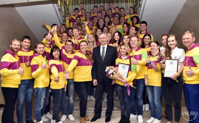 Андрей Травников встретился с участниками фестиваля молодежи в Сочи