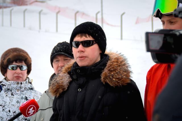 Незрячий студент из Новосибирска осваивает новый вид спорта