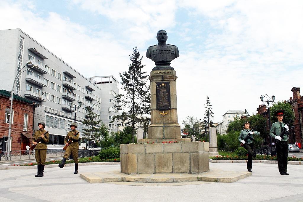 Новосибирские курсанты поедут в Минск нести Вахту памяти у Вечного огня