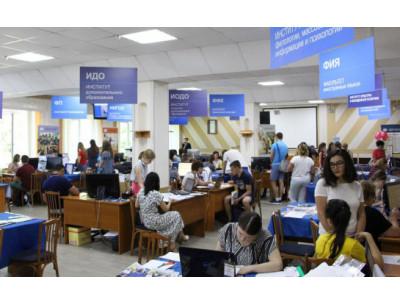 В НГПУ подано 25 тысяч заявлений