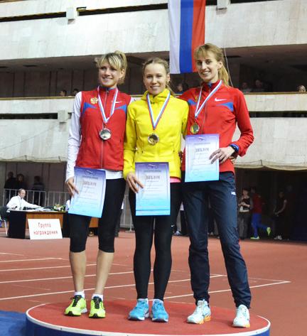 Новосибирская студентка привезла золото с чемпионата России по атлетике