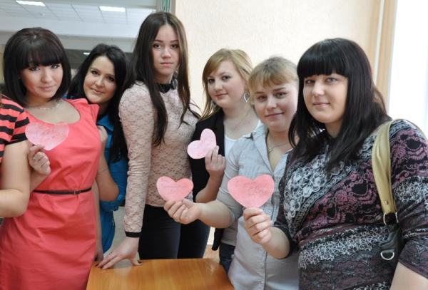 День влюбленных в НГПУ