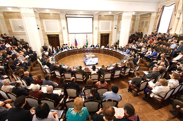 Масштабная конференция, посвященная 100-летию образования ВЛКСМ, начала работу в Новосибирской области