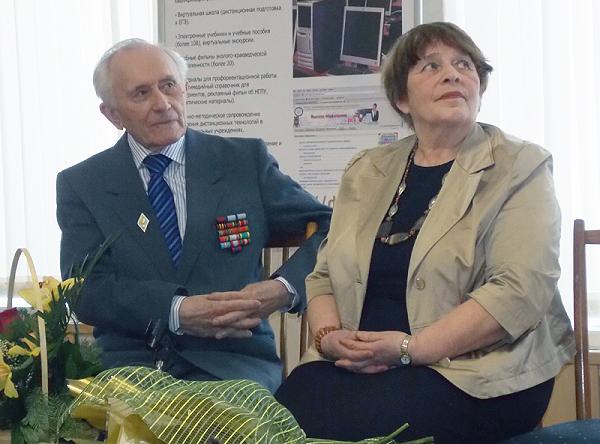 В НГПУ прошла встреча с ветераном Великой Отечественной войны