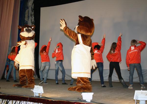 В НГПУ прошла презентация детских оздоровительных лагерей