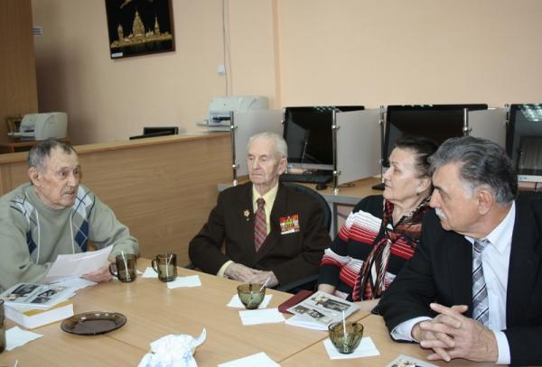 В НГПУ прошла презентация книги «Дайте слово ветерану»