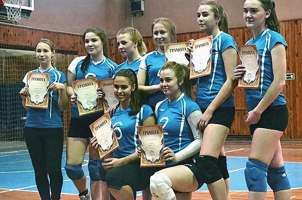 Спартакиада первокурсников НГПУ по волейболу