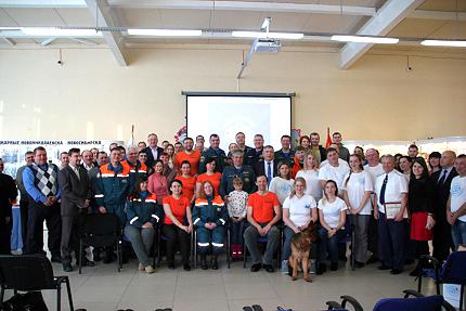 В музее пожарно-спасательной службы Новосибирской области отметили День добровольца