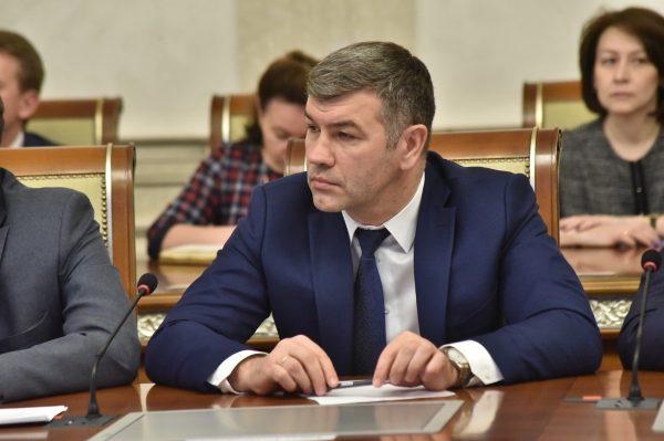 Андрей Гончаров возглавил министерство промышленности региона