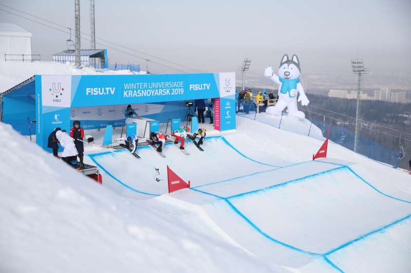 Уилл Малиш стал победителем Зимней универсиады-2019 в сноуборд-кроссе