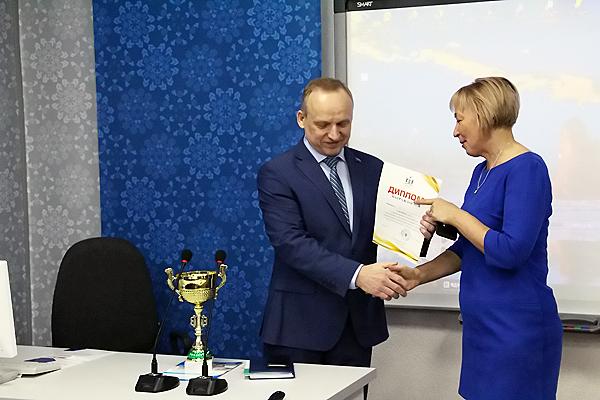 Сборная преподавателей НГПУ – победители соревнований по волейболу