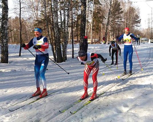 В Новосибирске прошло открытое первенство по лыжным гонкам