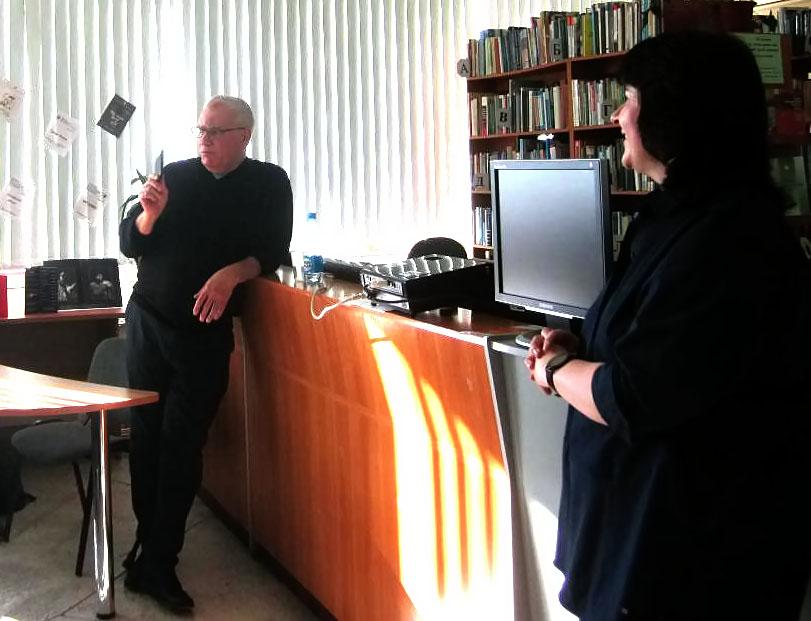 Студенты НГПУ побеседовали с режиссером Сергеем Афанасьевым