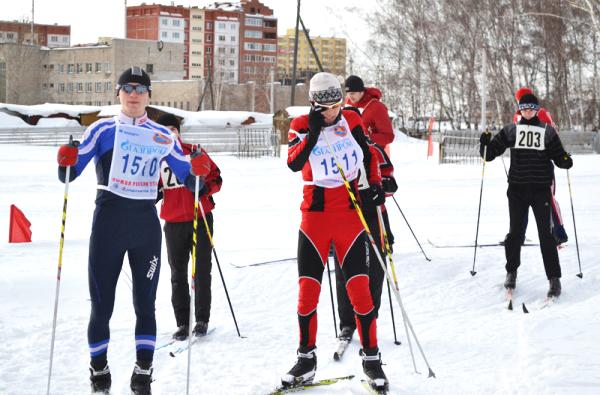 Лыжная неделя студентов и преподавателей НГПУ