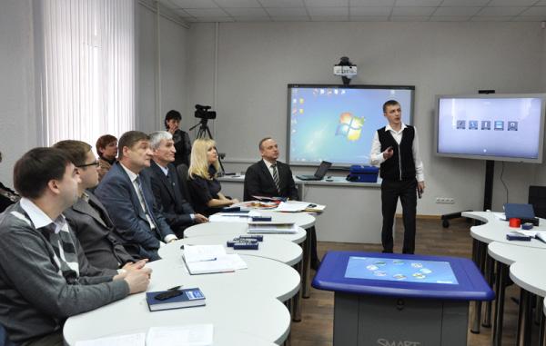 В НГПУ состоялось открытие ресурсного центра «Цифровая школа»