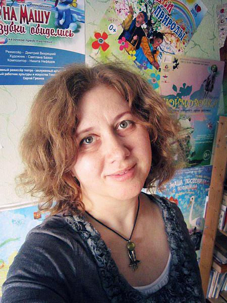 Светлана Бажко мечтает о персональной выставке авторских кукол