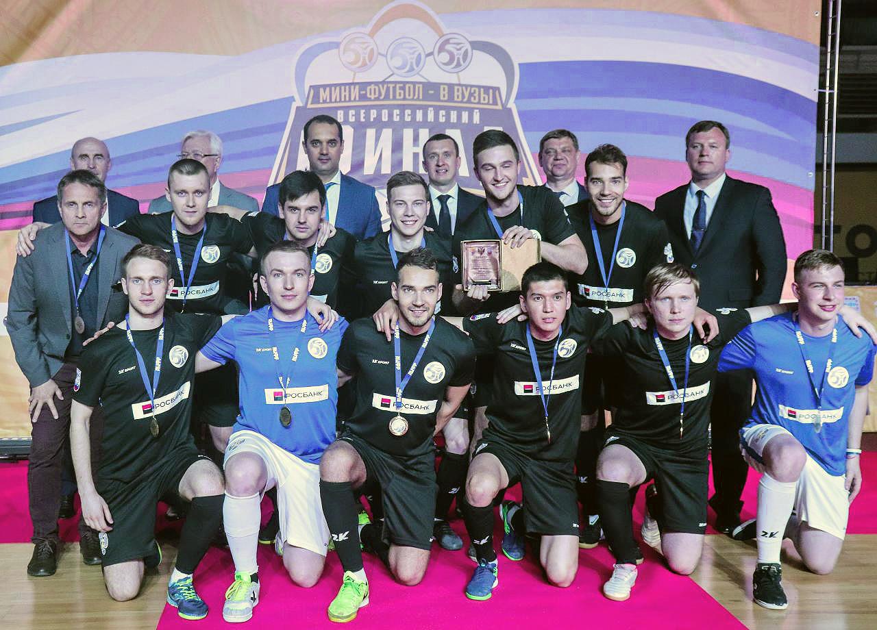 Студенты НГПУ — чемпионы межвузовского мини-футбола