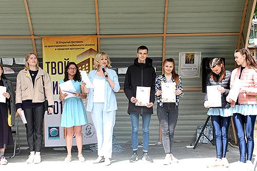 «Твой километр» с волонтерами НГПУ