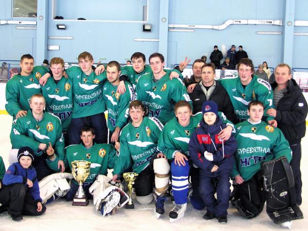 Хоккеисты НГПУ взяли Кубок Новосибирской области