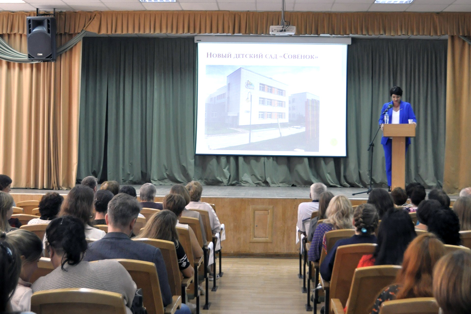 Главным в системе образования Кольцово станет внедрение нацпроектов