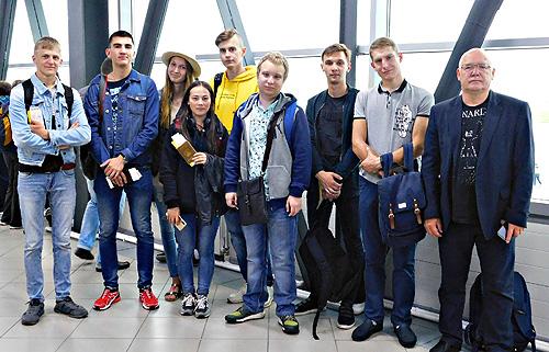 Маршрут памяти: студенты ИИГСО НГПУ по следам Великой Отечественной войны