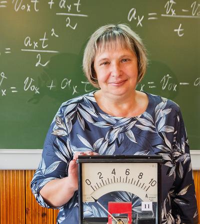 """Надежда Смирнова, учитель физики из Камня-на-Оби: """"Чтобы быть учителем, надо любить детей!"""""""