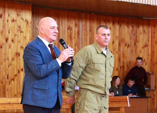 Представители системы Кадочникова выступили в НГПУ