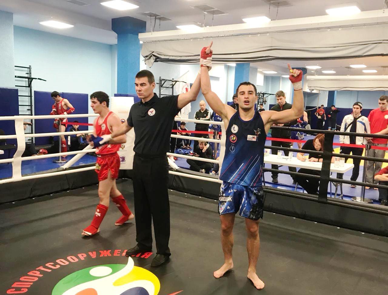 Кольцовец Никита Минькин— чемпион России по тайскому боксу среди студентов