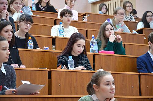 Региональный этап всероссийской олимпиады школьников по предметам «Обществознание» и «Право» прошел в НГПУ