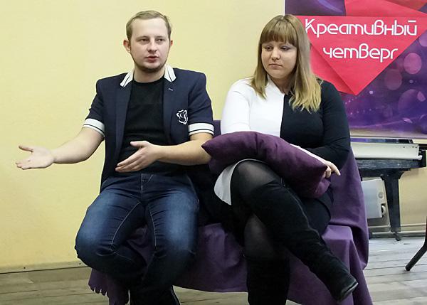 «Креативный четверг» ФКиДО НГПУ посетили ведущие радио «Юнитон»