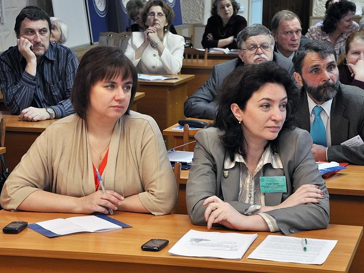 В НГПУ проходит первая конференция по вопросам ботанического образования