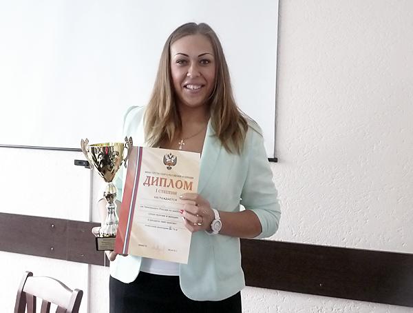 Преподаватель НГПУ – победительница чемпионата России по кикбоксингу