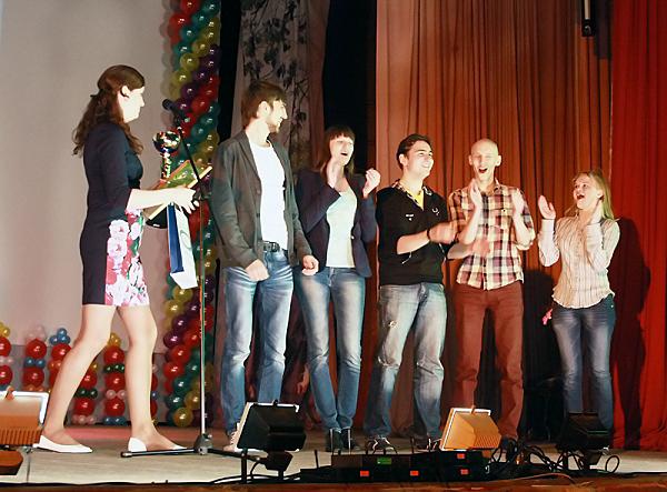 Награждение самых талантливых студентов НГПУ