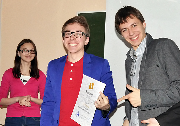 В НГПУ завершился фестиваль «Крекер»