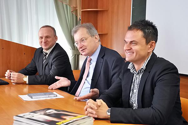 Генеральный консул Германии встретился со студентами НГПУ