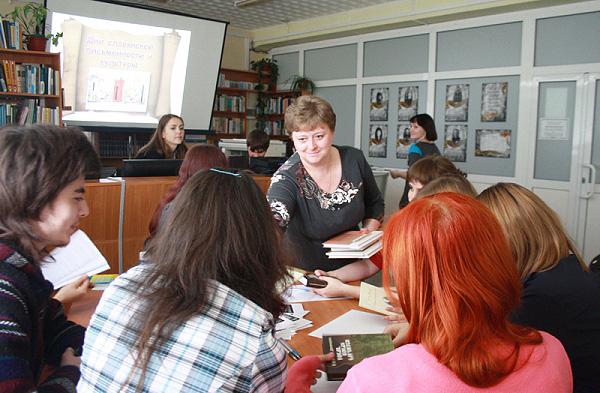 В ИФМИП НГПУ отметили День славянской письменности и культуры