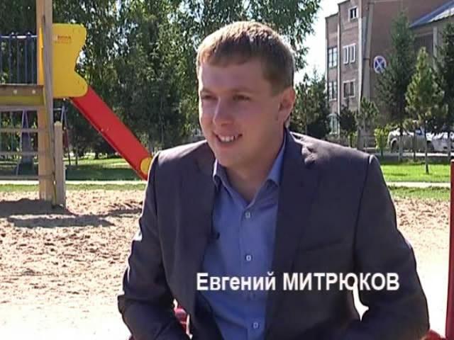 Евгений Митрюков - самый молодой директор школы